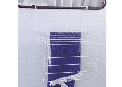 Suszarka do prania rozwieszana na oknie